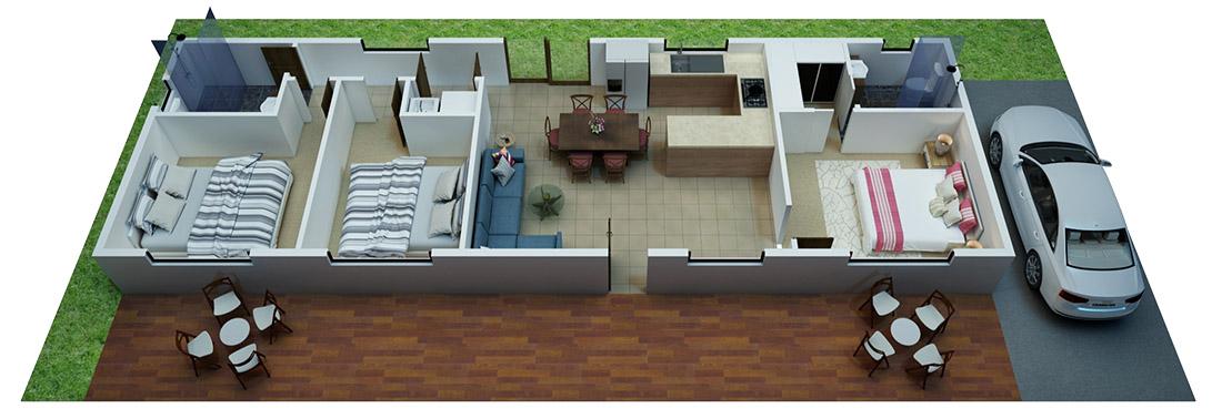 Adelaide 3D Floor Plan Service