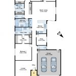Colour Floor Plans in 2D